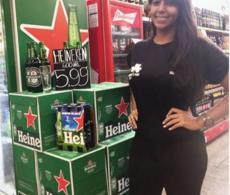 Ação de Merchandising Heineken